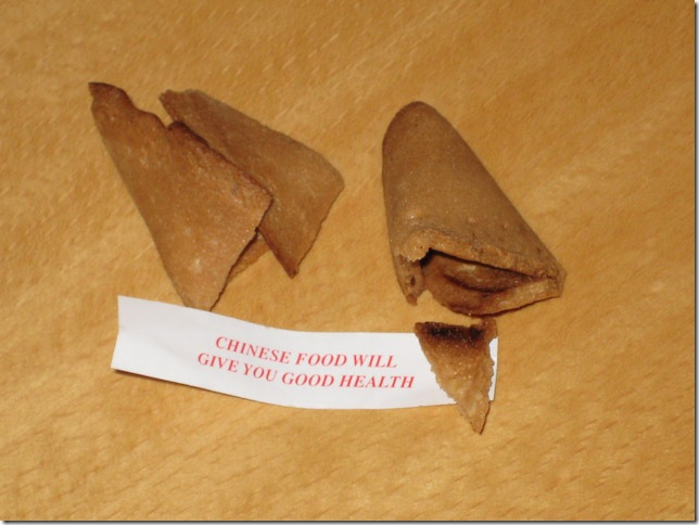 Chinese food will give you good health